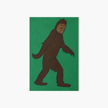 Bigfoot Art Board Print
