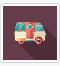 Vintage Camper Van Sticker