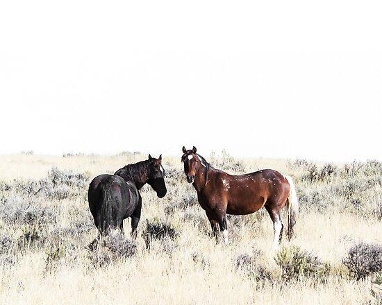 Pferde, Pferd drucken, Pferd Kunst, Wandkunst, Wanddekoration, Trendy print, Animal print, Interior von juliaemelian