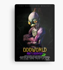Abe's Oddysee the movie Metal Print