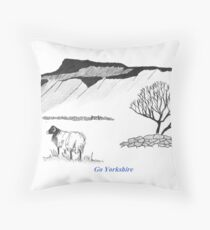 The Beauty of the Dales Throw Pillow