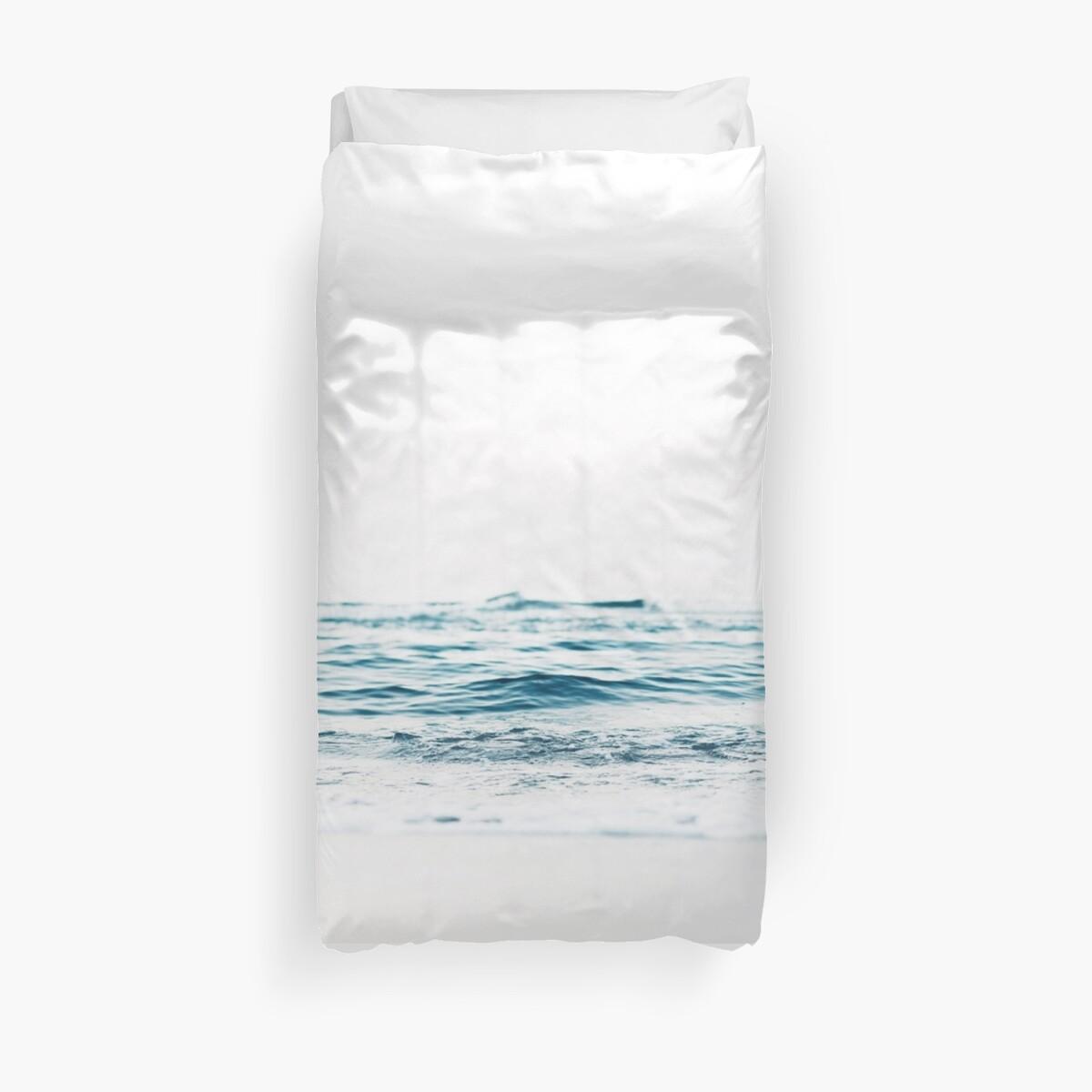 Fundas nórdicas «Paisaje, Agua azul, Impresión escandinava, Nórdico ...