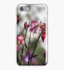 Watering Aqualegia - Helios Lens on EOS 7D iPhone Case/Skin
