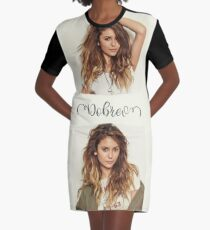 nina dobrev Graphic T-Shirt Dress