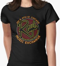 Ray's Music Exchange - Bend Over Shake Variant Womens Fitted T-Shirt