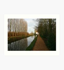 Lode Mill Anglesey Abbey Cambridgeshire Art Print