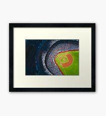 Toronto Blue Jays Sky Dome Baseball Stadium Framed Print