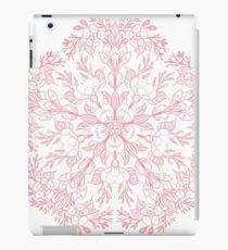 Spring Cherry blossom Mandala- Peach / coral iPad Case/Skin