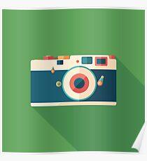 Vintage Film Camera Poster