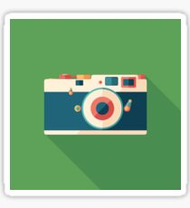 Vintage Film Camera Sticker