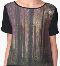 COSMIC FOREST UNIVERSE Chiffon Top