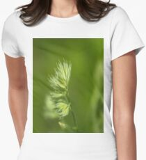 Green Plant Womens Fitted T-Shirt