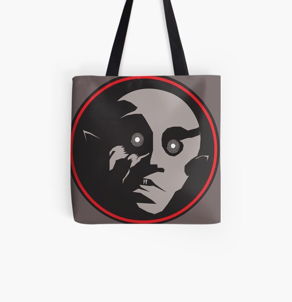 The Silent Vampyr All Over Print Tote Bag