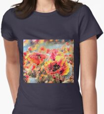 Sunkissed Garden Womens Fitted T-Shirt