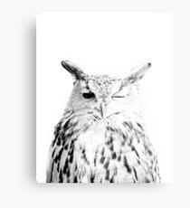 Owl print, Bird print, Scandinavian, Nordic, Marble, Trendy print, Styled, Scandinavian art, Modern art, Wall art, Print, Minimalistic, Modern Canvas Print