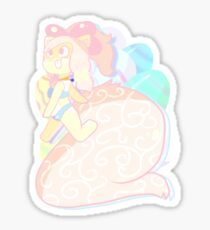 chu chu furry sticker Sticker