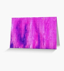 Pink and Streaked Greeting Card
