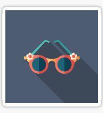 Women's Romantic Sunglasses Sticker