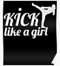 Kick Like A Girl Poster