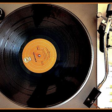 Vintage Pioneer Turntable 1976 Electronics PL-117D by BunnyThePainter