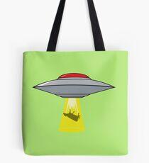 Martians Want Milk & Burgers! Tote Bag