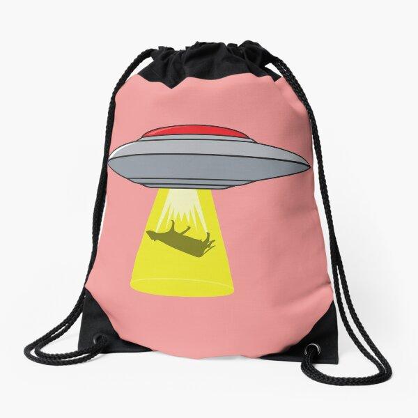 Martians Want Milk & Burgers! Drawstring Bag