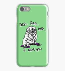 I seal what a wonderful world. iPhone Case/Skin