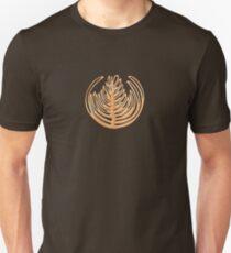 Latte Art - Rosetta - Cream Unisex T-Shirt