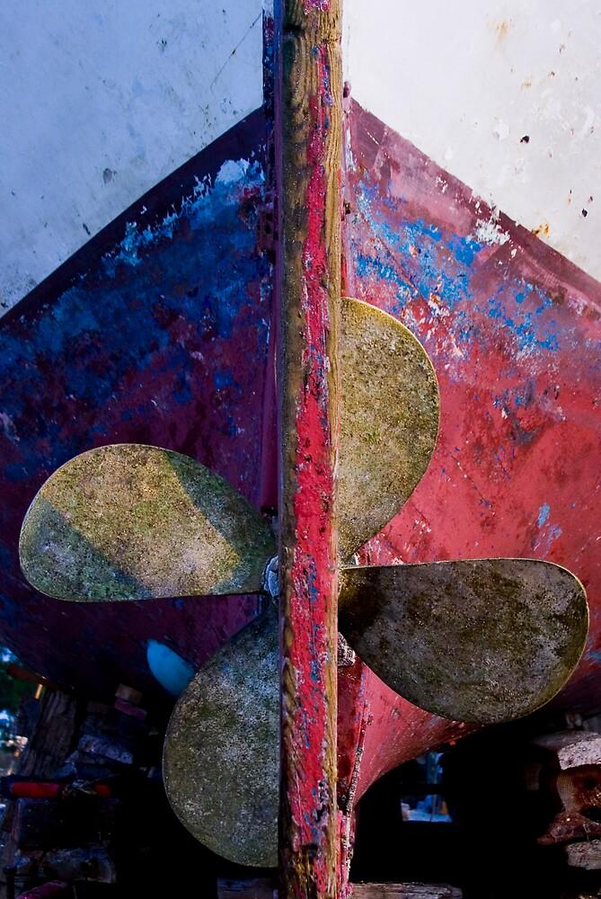 Brass propeller by kevomanno