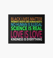 Love is Love Art Board Print
