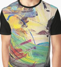 Abstract Acrylic Paint No.1 Graphic T-Shirt