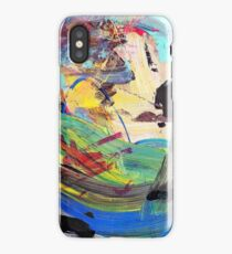 Abstract Acrylic Paint No.1 iPhone Case/Skin