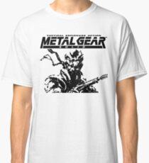 Metal Gear Solid: Ghost Babel - Title Screen Pixel Art  Classic T-Shirt