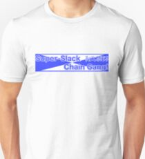 Super Slack Chain Gang - Japanese 80s Style Unisex T-Shirt