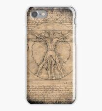 vitruvian flash iPhone Case/Skin