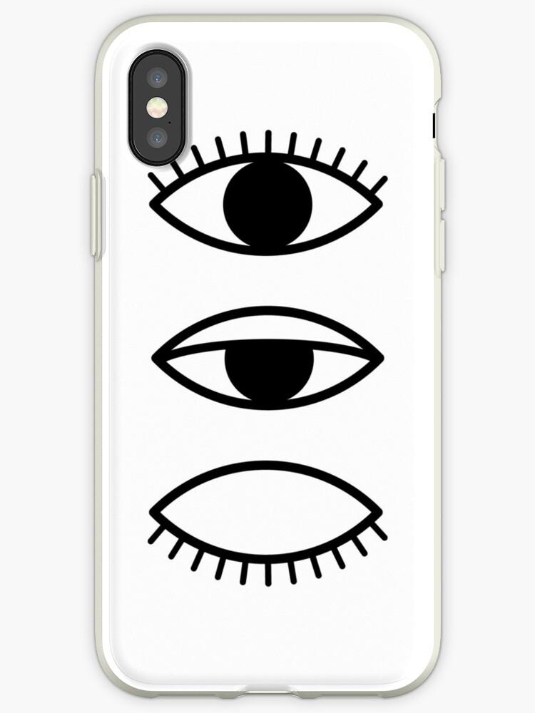 coque iphone xs oeil