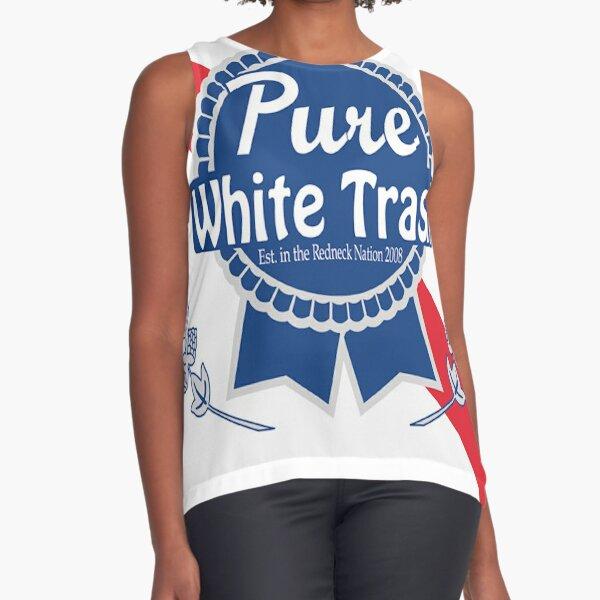Pure White Trash Sleeveless Top