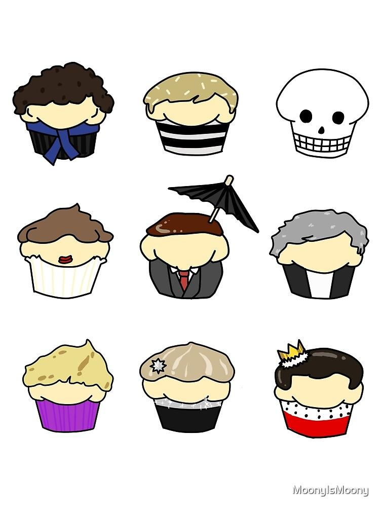 Cupcake!Lock by MoonyIsMoony