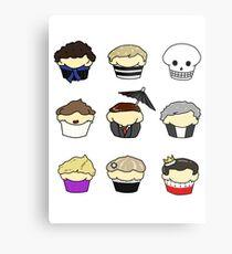 Cupcake!Lock Metal Print