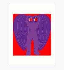 The Mothman Art Print