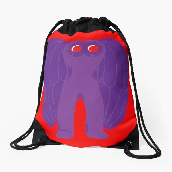 The Mothman Drawstring Bag