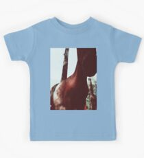 Horse at the Zoo Winter Wonderland Kids Tee