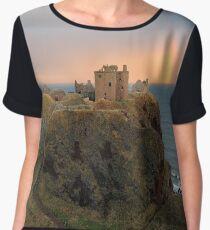 Dunnottar Castle Sunset Rainbow Chiffon Top