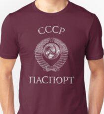 CCCP Vintage Passport  Unisex T-Shirt