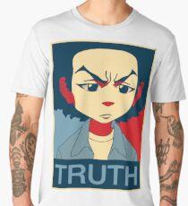 The Boondocks-Huey-Truth Men's Premium T-Shirt