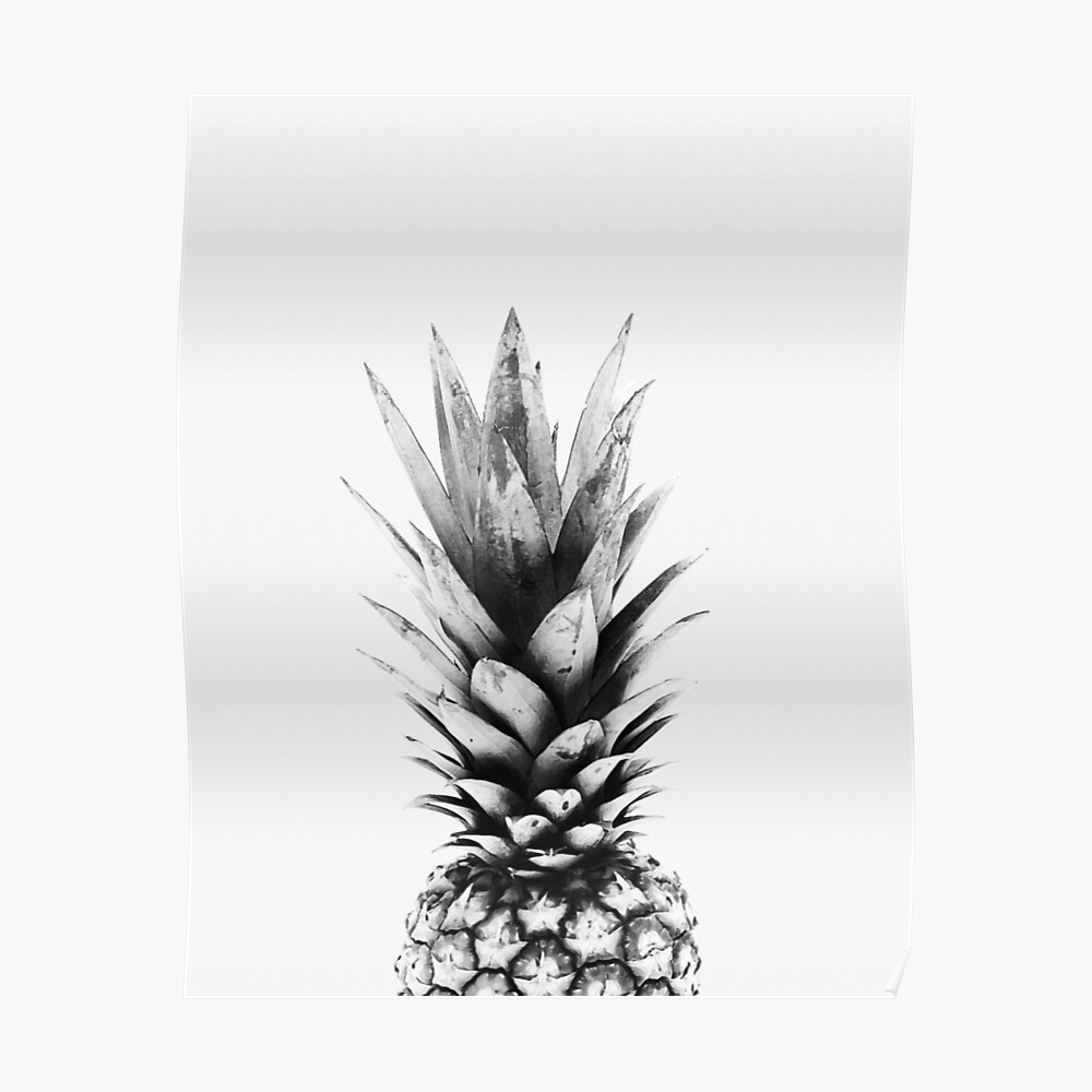 Ananas-Print, Tropical, skandinavischen print, Skandinavisch, Nordic, Trendy print, Stil, skandinavische Kunst, moderne Kunst, Wandkunst, Print, minimalistisch, Modern Poster