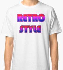 RETRO STYLE Classic T-Shirt
