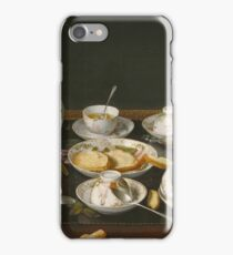 Jean - Etienne Liotard - Still Life Tea Set iPhone Case/Skin