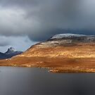 Mountain Pano from Knockan Crag by Grant Glendinning