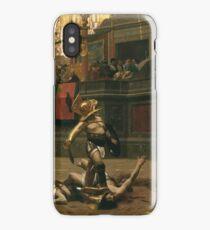 Jean - Leon Gerome - Pollice Verso iPhone Case/Skin